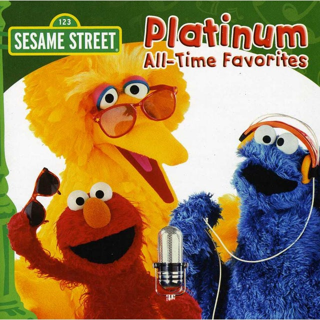 Sesame Street PLATINUM ALL-TIME FAVORITES CD