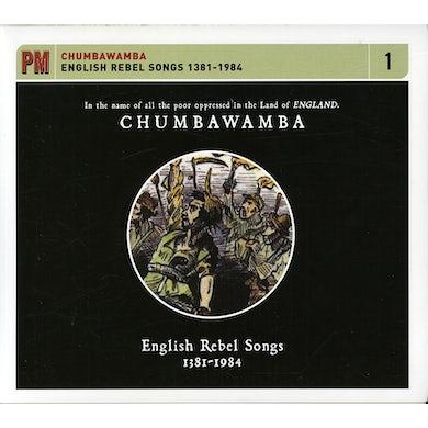 Chumbawamba ENGLISH REBEL SONGS 1381-1984 CD