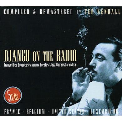Django Reinhardt DJANGO ON THE RADIO CD