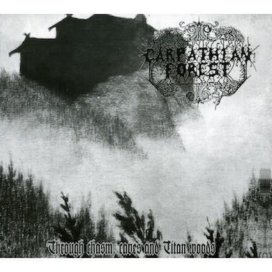 Carpathian Forest THROUGH CHASM CAVES & TITAN WOODS CD