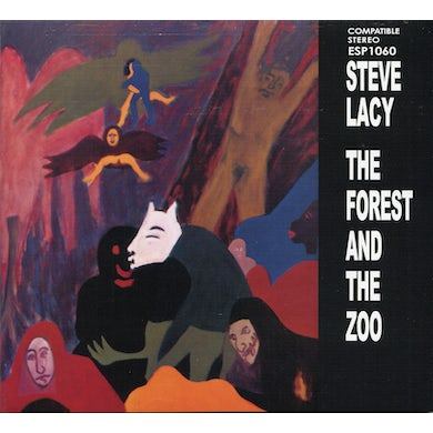 Steve Lacy FOREST & THE ZOO CD