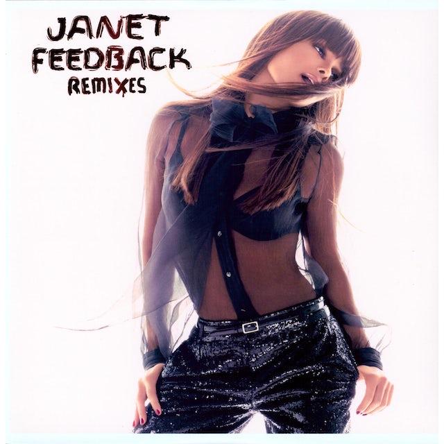 Janet Jackson FEEDBACK (X6) Vinyl Record - Remixes, Special Packaging
