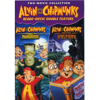 Alvin and the Chipmunks SCARE-RIFFIC DOUBLE FEATURE DVD