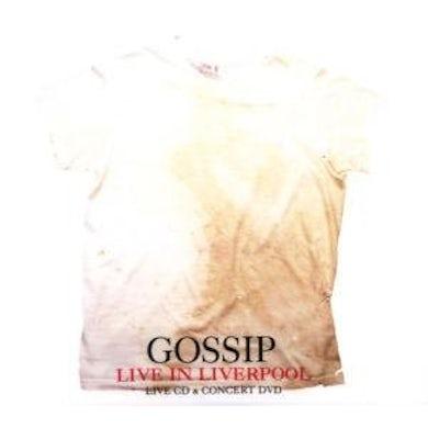 Gossip LIVE IN LIVERPOOL CD