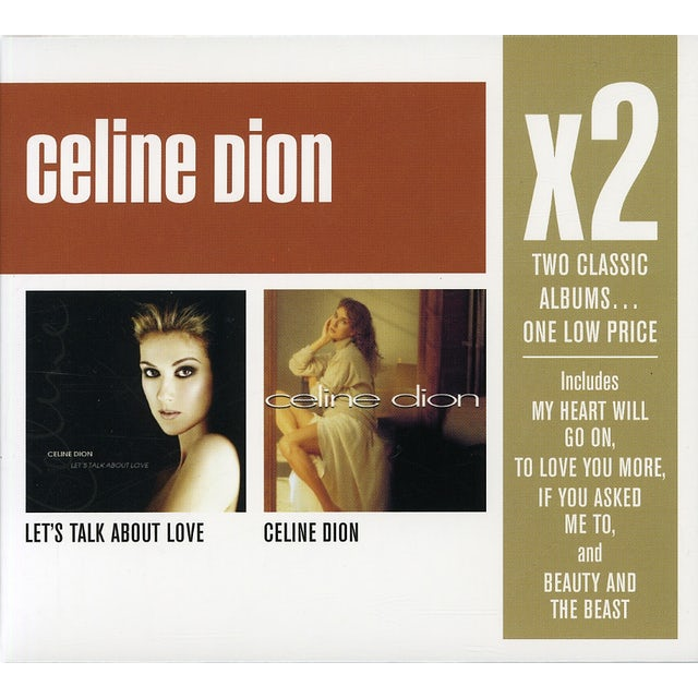 X2: LET'S TALK ABOUT LOVE / CELINE DION CD