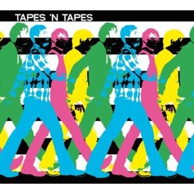 Tapes N Tapes WALK IT OFF Vinyl Record