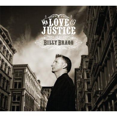 Billy Bragg MR LOVE & JUSTICE CD