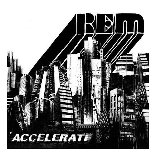 R.E.M. ACCELERATE (BONUS CD) Vinyl Record