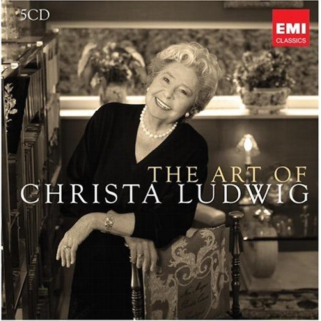 ART OF CHRISTA LUDWIG CD