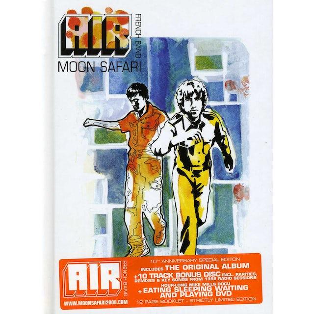 Air MOON SAFARI: 10TH ANNIVERSARY DELUXE EDITION CD