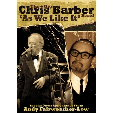 Chris Barber AS WE LIKE IT DVD