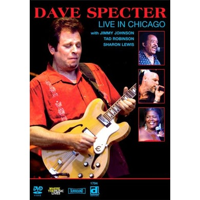 Dave Specter LIVE IN CHICAGO DVD