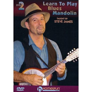 Steve James LEARN TO PLAY BLUES MANDOLIN 2 DVD
