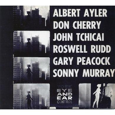 Albert Ayler NEW YORK EYE & EAR CONTROL CD