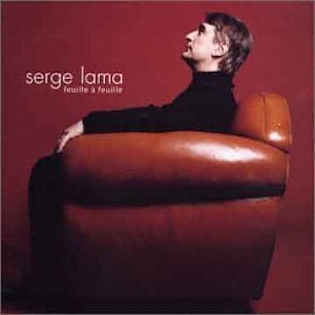 Serge Lama FEUILLE A FEUILLE CD