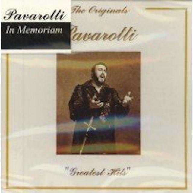 Pavarotti GREATEST HITS CD