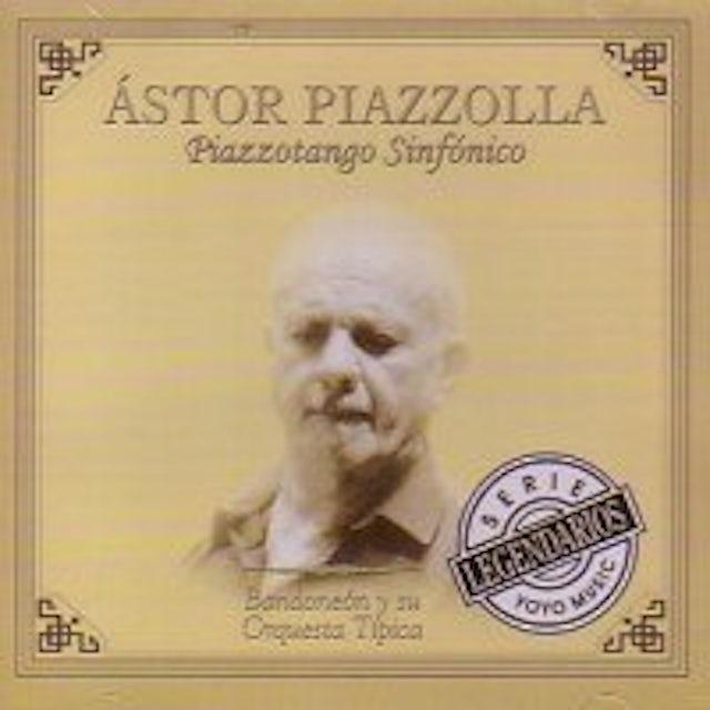 Astor Piazzola PIZZONTANGO SINFONICO CD