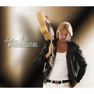 Andreas Oberg MY FAVORITE GUITARS CD