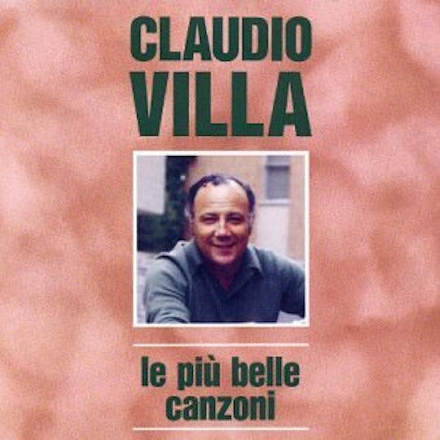 Claudio Villa LE PIU' BELLE CANZONI CD