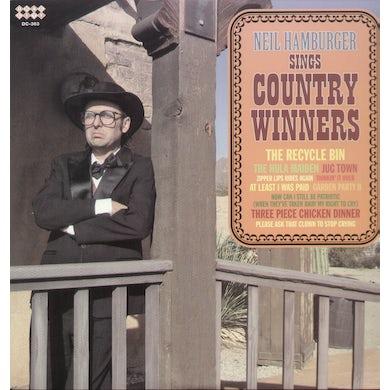Neil Hamburger SINGS COUNTRY WINNERS Vinyl Record