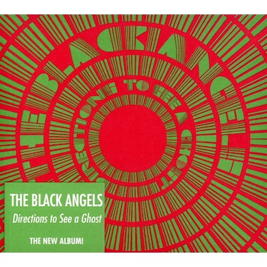 Black Angels DIRECTIONS TO SEE A GHOST CD