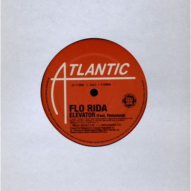 Flo Rida ELEVATOR Vinyl Record