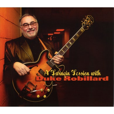 SWINGING SESSION WITH DUKE ROBILLARD CD