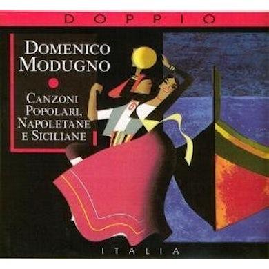 Domenico Modugno CANZONI POPOLARI NAPOLETANE E SICILIANE CD