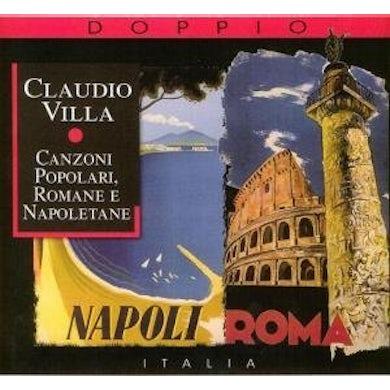 Claudio Villa CANZONI POPOLARI ROMANE E NAPOLETANE CD