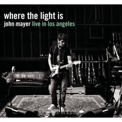 WHERE THE LIGHT IS: JOHN MAYER LIVE IN LOS ANGELES CD