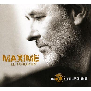Maxime Le Forestier LES 50 PLUS BELLES CHANSONS CD