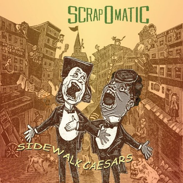Scrapomatic SIDEWALK CAESARS CD
