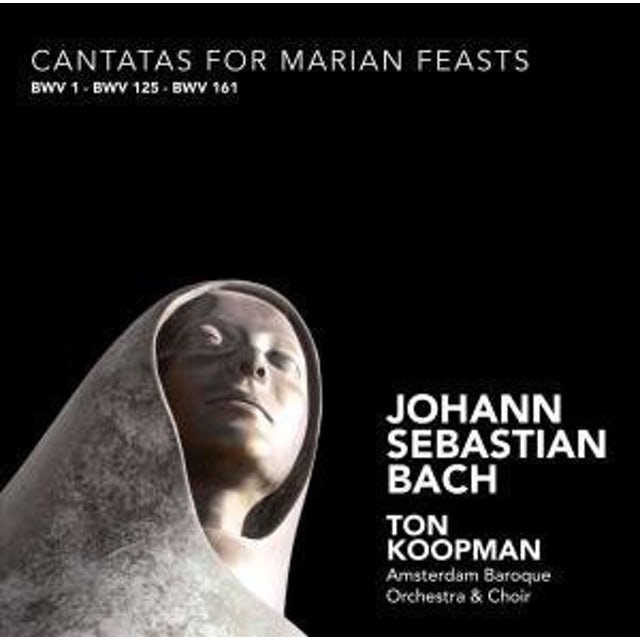 J.S. Bach CANTATAS FOR MARIAN FEASTS CD