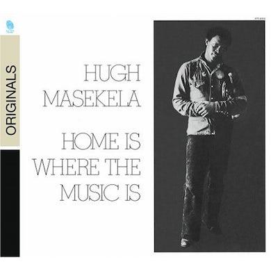 Hugh Masekela HOME IS WHERE THE HEART IS CD