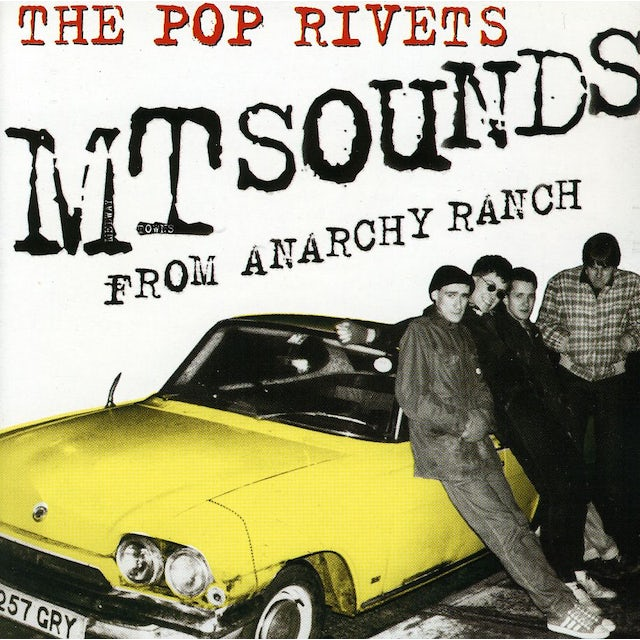 Pop Rivets EMPTY SOUNDS FROM ANARCHY RANCH CD