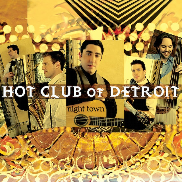 Hot Club Of Detroit NIGHT TOWN CD