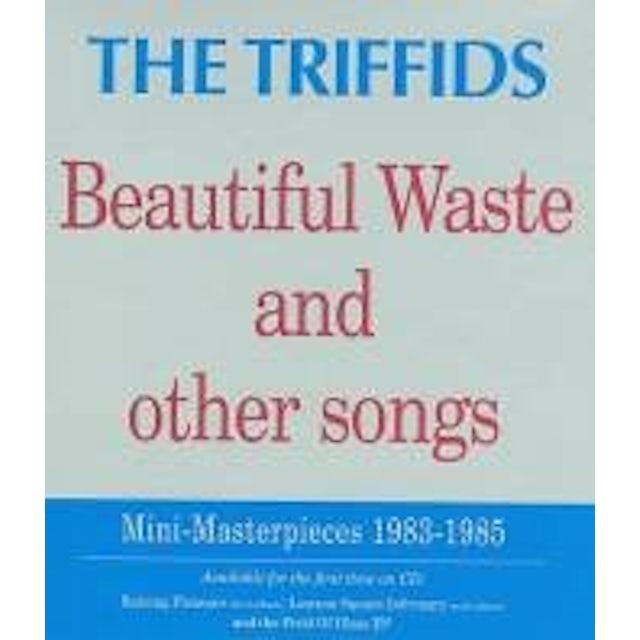 Triffids BEAUTIFUL WASTE CD