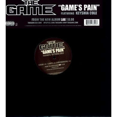 The Game'S PAIN (X3) Vinyl Record