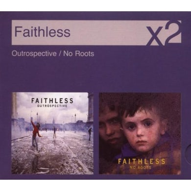 Faithless OUTROSPECTIVE / NO ROOTS CD