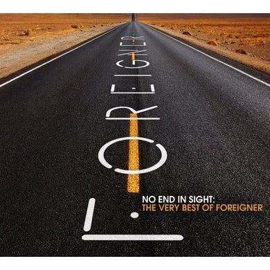 NO END IN SIGHT: THE VERY BEST OF FOREIGNER CD