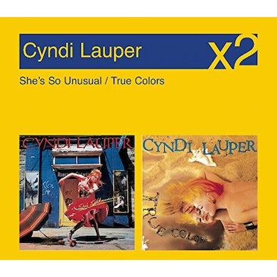 Cyndi Lauper SHE'S SO UNUSUAL / TRUE COLORS CD