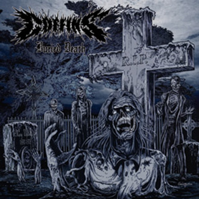 Coffins BURIED DEATH Vinyl Record