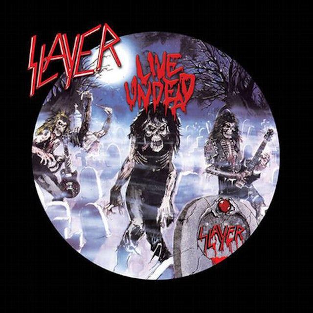 Slayer LIVE UNDEAD Vinyl Record