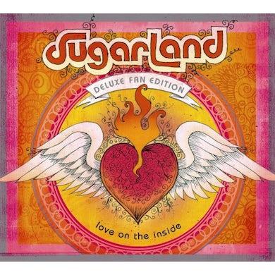 Sugarland LOVE ON THE INSIDE (BONUS TRACKS) Vinyl Record - Deluxe Edition