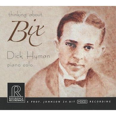 Dick Hyman THINKING ABOUT BIX CD