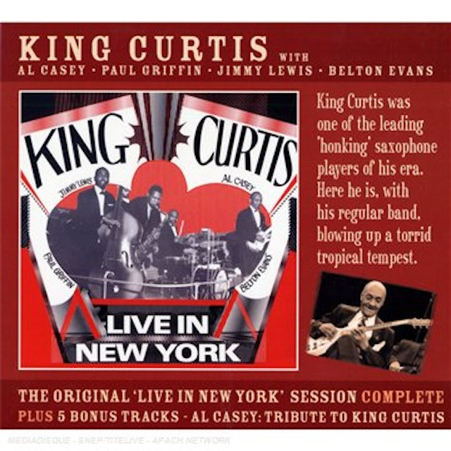King Curtis LIVE IN NEW YORK CD