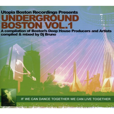 DJ Bruno UNDERGROUND BOSTON 1 CD