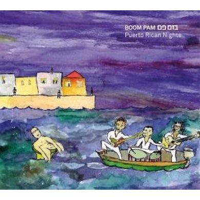 Boom Pam PUERTO RICAN NIGHTS CD