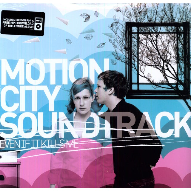 Motion City Soundtrack EVEN IF IT KILLS ME Vinyl Record