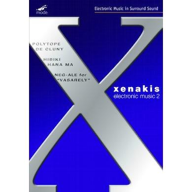 Iannis Xenakis ELECTRONIC WORKS 2 DVD